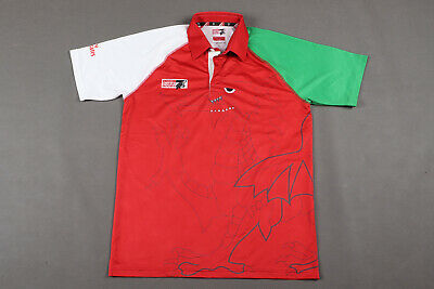 £1.99 • Buy Wales Dubai Sevens Rugby Short Sleeved Shirt Jersey - Size L