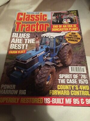 £1.40 • Buy Classic Tractor Magazine March 2008