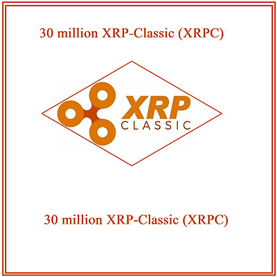 $28.99 • Buy 30 Million XRP-Classic (XRPC) CRYPTO MINING-CONTRACT Crypto Currency