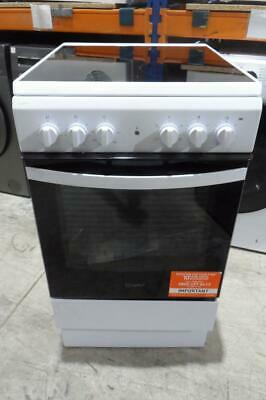£239.99 • Buy Indesit IS5V4KHW White Electric Cooker Single Cavity Ceramic Hob 50cm PEC NEW MG
