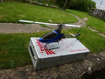 £160 • Buy TREX 500 RC Helicopter And Case Trex Radio Controlled Helicopter