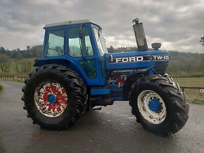 £11850 • Buy Ford TW15 Tractor, Air Brakes Classic Cheap Power