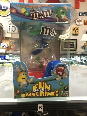 $19.99 • Buy M&M's Fun Machine Candy Dispenser  Official M&M's Brand Collectible  New In Box
