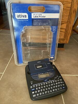 £21.82 • Buy Label Printer Ativa AT LP 1000 Brother P Touch  Dymo Casio