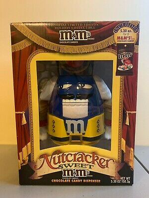 $10 • Buy M&M's MM Nutcracker Sweet Candy Dispenser SPECIAL LIMITED EDITION NEW