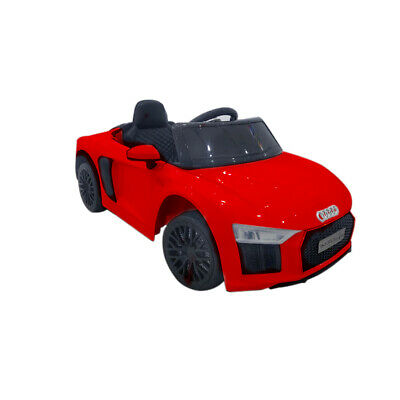 £89.99 • Buy Kids Ride On Car Licensed Audi Electric Led Mp3 Remote Control Toy 12v Red