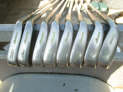 AU36.90 • Buy Mizuno Domino Golf Irons 3,4,5,7,8,9 Plus PW And SW8 Golf Clubs