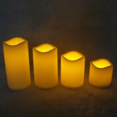 £3.42 • Buy Romantic Flameless LED Electronic Candles Light Wedding Scented Wax Home Decor