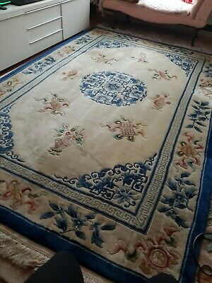 £170 • Buy Chinese Rug Wool And Silk