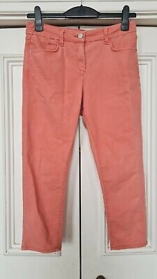 £4 • Buy Marks And Spencer Size 10/12 Cropped Trousers In Coral