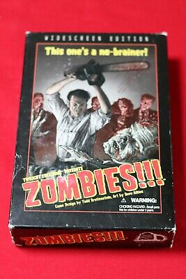 £18.50 • Buy Zombies!!! - First Edition - Board Game - Widescreen - Twilight Creations - RARE