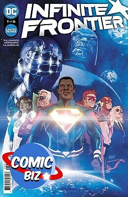 £4.25 • Buy Infinite Frontier #1 (2021) 1st Printing Gerads Main Cover Dc