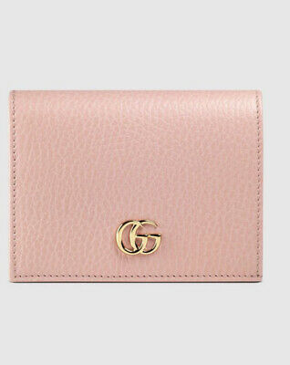 AU300 • Buy Authentic Gucci Pink Leather Card Case Wallet