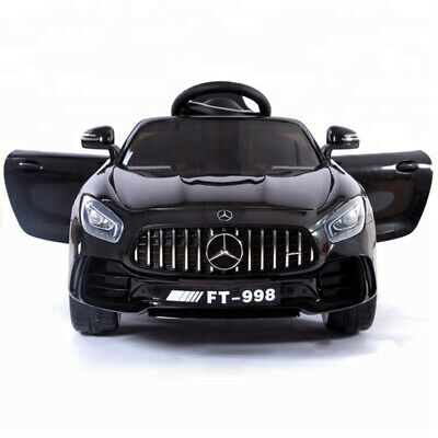£99 • Buy Black Kids Ride On Car 12V Electric Battery 2.4G Remote Control Benz Style Car