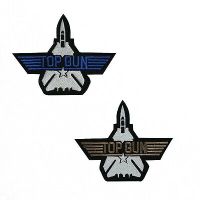 £1.99 • Buy Top Gun Movie Embroidered Patch Iron On Sew On Badge Patch Appliques For Clothes