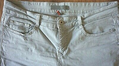£5.90 • Buy Ladies Grey Jeans  MAC  Summer Chic Collection EU Size 42 UK Size 14/16