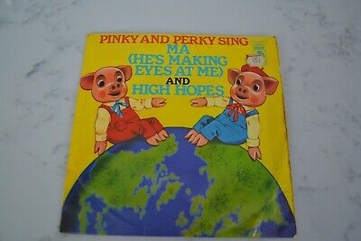 £2 • Buy Pinky And Perky - Ma (He's Making Eyes At Me)  7 Inch Vinyl