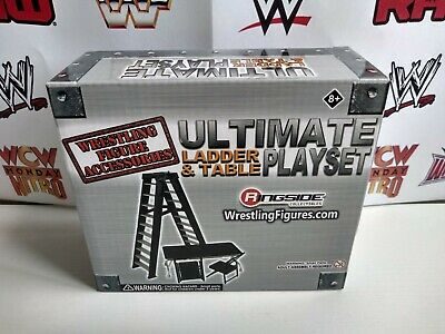 £24.99 • Buy RINGSIDE COLLECTIBLES Ultimate Table Ladder TLC Accessories Playset WWE AEW