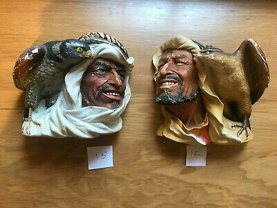 £14 • Buy 1 Large Vintage Bossons Chalk Ware Head (not Both 2)