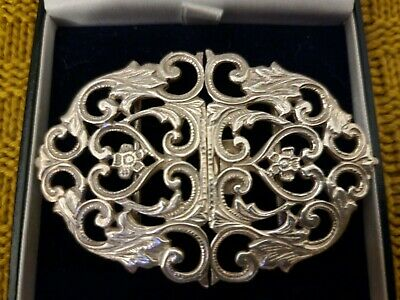 £80 • Buy Solid Silver Nurses Belt Buckle, Sterling,  Hallmarked, GIFT, Boxed