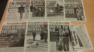 £7 • Buy The Daily Mail Winston Churchill's Special Tribute Edition