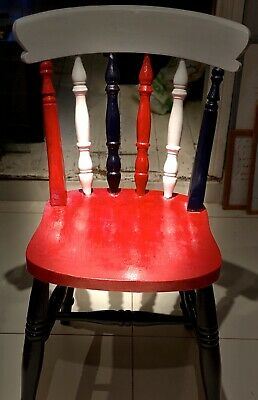 £30 • Buy Contemporary Up Cycled Chair British Union Jack