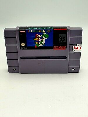 £14.99 • Buy SUPER MARIO WORLD SUPER NINTENDO / NTSC SNES GAME - Cartridge Only - Tested