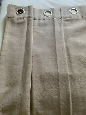 £49.99 • Buy 2 Pairs Of Eyelet Curtains In Mocha From John Lewis