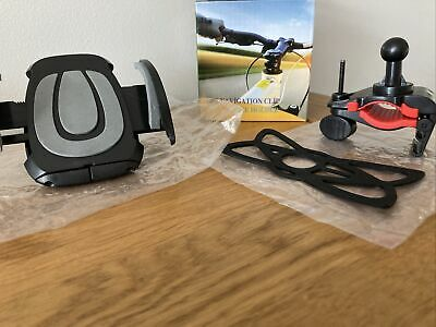 £9.99 • Buy Brand New GPS Navigation Clip Bike Mount Holder Food Delivery Phone Accessory