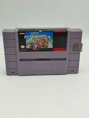 £20 • Buy Super Mario Kart (USA NTSC ) (SNES) Cart Only, Tested And Working, FREE P&P