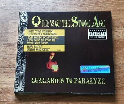 £5 • Buy Queens Of The Stone Age - Lullabies To Paralyze CD - Ltd Edition With Bonus DVD