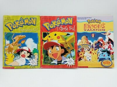 $11.99 • Buy Lot Of 3 POKEMON Scholastic Books! - #1, #6, Pikachu's Vacation - Pre-owned