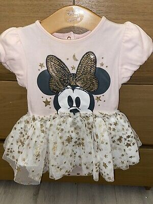 £2.99 • Buy Minnie Mouse Baby Outfit