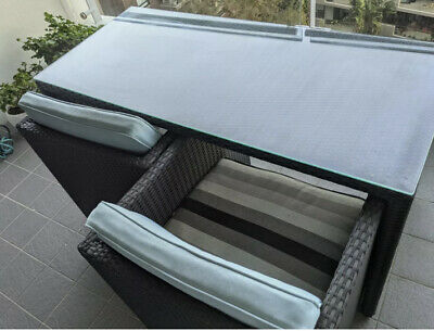 AU150 • Buy Outdoor Furniture Dining Table, Armchairs And Ottomans 90%+ Off RRP