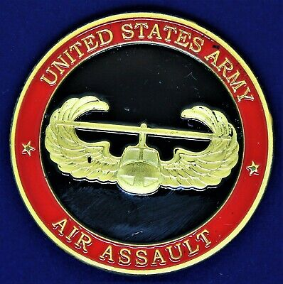 £5.79 • Buy US Army Air Assault Challenge Coin CC3
