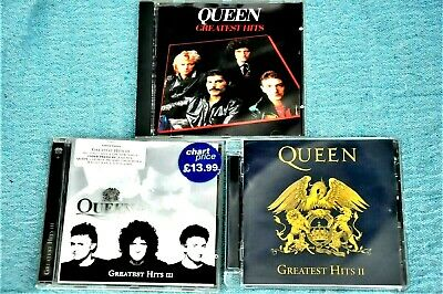 £6.99 • Buy QUEEN GREATEST HITS, Greatest Hits 11 & Greatest Hits 111 There Are 51 CD Tracks