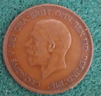 £3 • Buy 1936 UK United Kingdom King George 5th 1d One Penny Coin - Last Year Of Reign