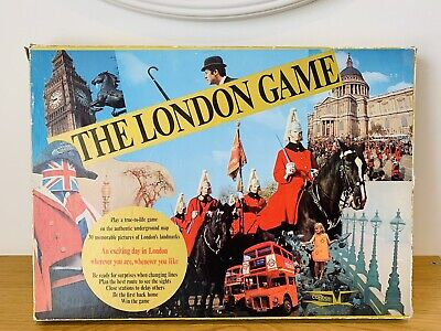 £16.99 • Buy Vintage The London Game Board Game Underground 1972 100% Complete