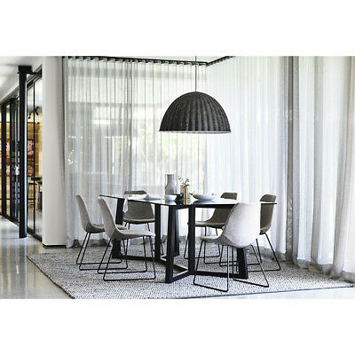 AU600 • Buy Geo Glass Top 6 Seater Dining Table