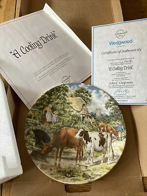 £5 • Buy Wedgewood Life On The Farm Plate - A Cooling Drink