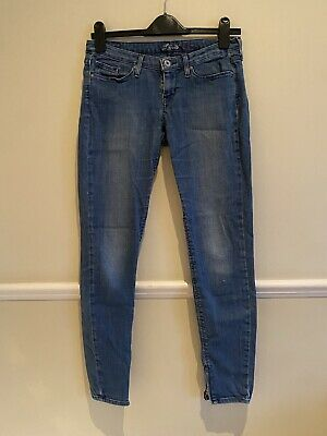 £15 • Buy LEVIS Low Rise Mid Blue Skinny Jeans, 27 32