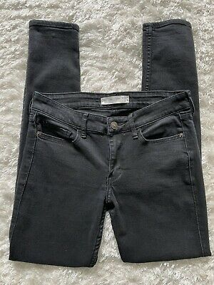 £10 • Buy Abercrombie And Fitch Low Rise Black Jeans Size OS W25 L29
