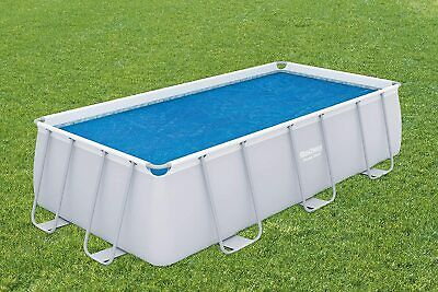 £43.99 • Buy Bestway SOLAR COVER Rectangular Swimming Pool Fits 4m X2m 13.5ft KEEP WATER WARM