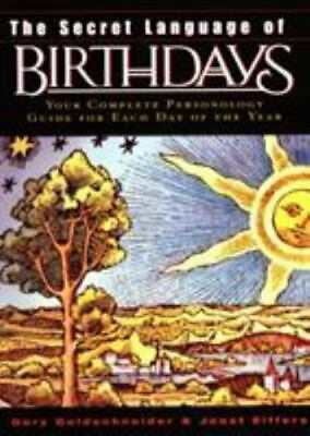 £21.52 • Buy The Secret Language Of Birthdays (Complete Personality Guide) -Good Condition!
