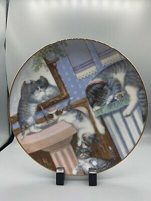 £5.75 • Buy Mischief Makers Cat Country Kitties 1988 Hamilton Plate By Gre' Gerardi