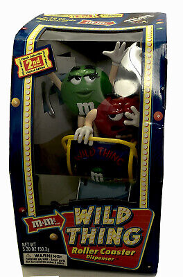$41.97 • Buy M&M's Wild Thing Roller Coaster Dispenser 2nd Edition Limited Edition 2002