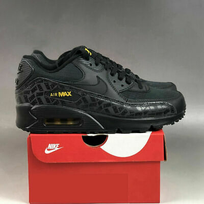 £46.66 • Buy Air Max 90 Mens / Womens Trainers Black Shoe All UK Size Sports Running Shoes