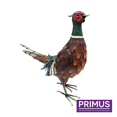 £34.99 • Buy Primus Hand Painted Lifelike Ring Necked Pheasant Outdoor Garden Patio Ornament