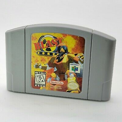 $ CDN19.69 • Buy Blast Corps N64 Authentic & Tested (Nintendo 64, 1997) Cartridge Only