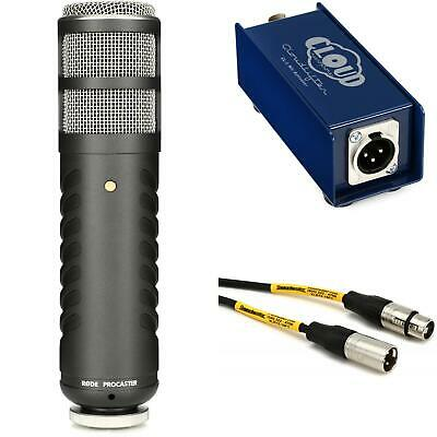 $379.99 • Buy Rode Procaster And CL-1 Cloudlifter Broadcast Microphone Bundle
